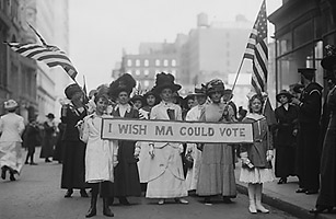 Womens march for vote