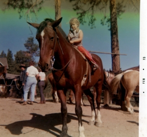 Lia at the Guest Ranch