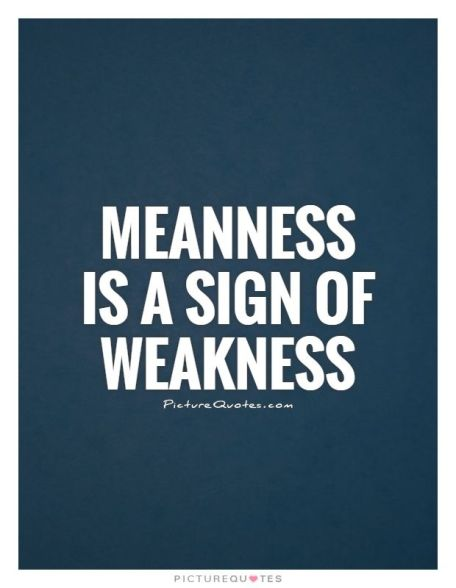 Meanness